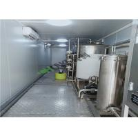Quality Water Treatment Plant Seawater Desalination System / Reverse Osmosis Machine for sale