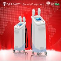 high quality fast diode laser hair removal machine with 2 SHR handles and 2 IPL handles for sale