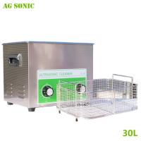 Quality Electronics Industrial Ultrasonic Cleaner 30L for Computer Monitor Keyboards Cleaning 40khz for sale