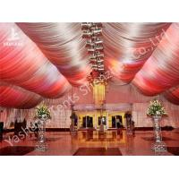 Buy cheap Outside Large Aluminum Profile Wedding Reception Tents Decorated With Lining from wholesalers