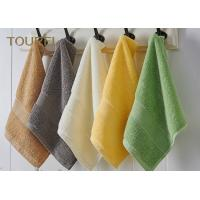 Quality Embroidery Hotel Face Towel Bright Color 100% Cotton Face Flannels for sale