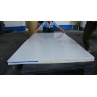 Quality white extruded polypropylene plastic sheets transparent 1000mm x 2000mm for sale