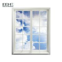 Quality European Standard 3 Track Aluminium Sliding Windows With Guard Security Bar for sale