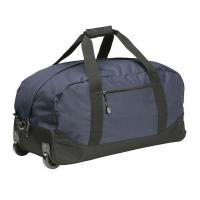Quality High Density Wheeled Duffle Bag Luggage , Rolling Duffle Bag With Shoulder Strap for sale