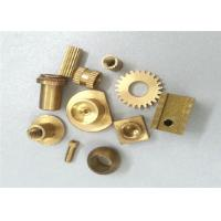 Quality Metal Gear Brass Machined Parts Stamping 0.01 Tolerance ISO Certification for sale