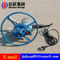 Quality 1500W electric drilling rig machine Portable small water well drilling rig for sale for sale