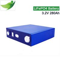 China Solar batteries storage 3.2V 280Ah LiFePO4 battery cell for camp out for sale