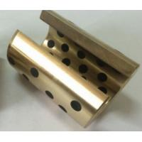 China Brass Graphite Bushings High Temperature Use , Flanged Graphite Bronze Bushing on sale