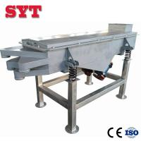 High Quality Soya Bean Cocoa Linear Vibrating Screen Sieve machine for sale
