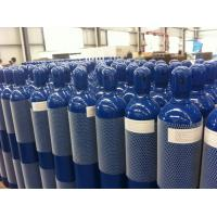 Quality Steel Seal High Pressure 10L / 15L / 20L Compressed Gas Cylinder For High Purity Gas for sale