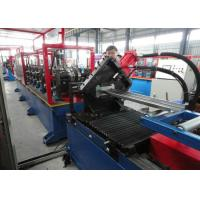 Buy Automatic roller Door Frame Roll Forming Machine , sheet profile cold roll forming machine at wholesale prices