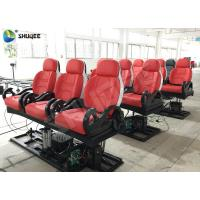 Quality Realistic 6D Cinema Equipment With Excited Motion Chair And Cinema Special Effects for sale