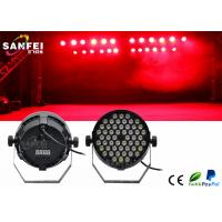 Quality 54x3w Rgbw Plastic LED Par Stage Lights For Party , 25 Degrees Angle for sale