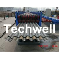 Quality 50Hz, 3 Phase Silo Steel Corrugated Sheet Roll Forming Machine With 18 Stations for sale