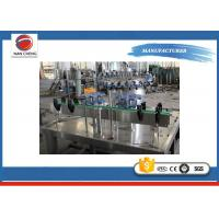 Quality Separate Type Carbonated Drinks Filling Machine 5KW 2000BPH PLC + Touch Screen for sale