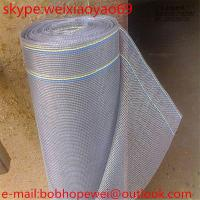Quality Hot sales! Durable Galvanized Window Screen/aluminum insect fly protection window screen mesh (14 years' manufacturing) for sale