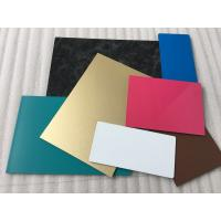 Buy Spectra Blue Aluminium Interior Wall Panels Anti - Dust With High Impact Resistance at wholesale prices