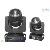 Quality Double Prism10R 280W Beam Spot Wash Moving Head Stage Light 16 / 20 Channels DMX for sale