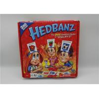 Quality Eco Friendly Fun Playing Card Games For Kids Educational HedBanz for sale