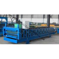 Quality Full-Automatic Standing Seam / Floor Deck Cold Roll Forming Machine 0.4mm - 0.8mm for sale