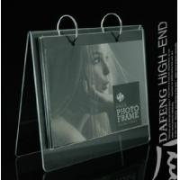 Quality calender photo frame acrylic clear for sale
