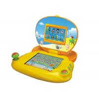 Quality Lovely Yellow baby learning tablet for early education , kids learning laptop for sale