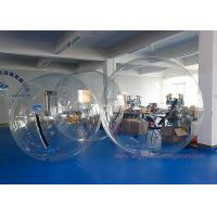 Quality TPU / PVC Large Inflatable Games , Clear Water Walking Bubble Ball for sale