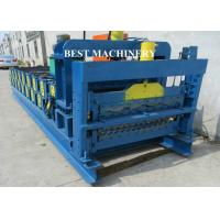 Buy Corrugating Iron Roofing Sheet Making Machine Metal Roofing Equipment 8m/min - 12m/min at wholesale prices