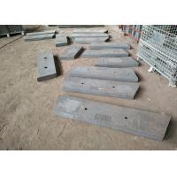 Quality Steel Pallet White Iron Metal Casting Chute Liners For Mining Industry for sale