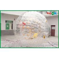 Quality PVC Bubble Human Sized Hamster Ball For Amusement Park 3.6x2.2m for sale