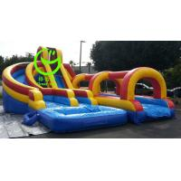 Quality giant inflatable water slide  with 24months warranty from GREAT TOYS for sale