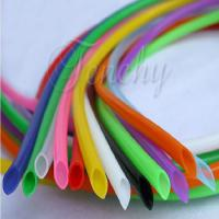 Quality Odorless High Temp Silicone Tubing Food Grade Round Shaped For Medical Devices for sale