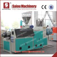 Quality 63-60mm diameter professional U-PVC pipe making machinery pvc pipe extruder for sale