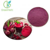 Quality Red 100% Pure Natural Food Pigments Beetroot Concentrate Juice Powder for sale