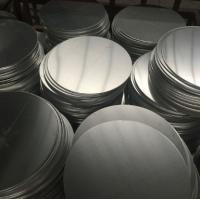 Quality Corrosion Resistant Anodized Aluminum Discs , Aluminum Disk Blanks SGS Approval for sale