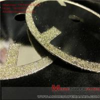 Quality Electroplated Diamond Cutting Blades & Discs Alisa@moresuperhard.com for sale