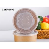 Buy cheap Waterproof Flexo Printing Disposable Paper Soup Bowls Dinnerware For Noodles from wholesalers