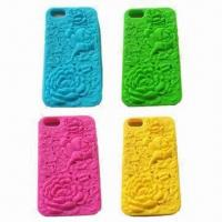 Quality TPU/Silicone Mobile Phone Housing/Covers/Accessories for iPhone, Dust-proof/Durable for sale