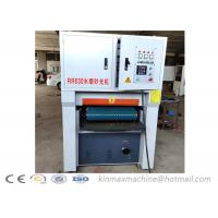 China R-RP630 solid surface flat wide belt sanding machine wpc aluminium sander machine for particle board on sale
