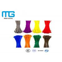 Quality Wiring Accessories Self-Locking Nylon Cable Ties Manufacturer With CE, UL Certification for sale