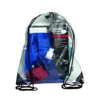 Quality Promotional PVC Drawstring Bag Silk Screen Printing For Portable Storage for sale
