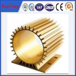 Quality china extruder of aluminium electric motor casing, aluminium motor housing for sale