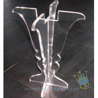 Quality CH (25) clear Acrylic hurricane lantern candle holder for sale