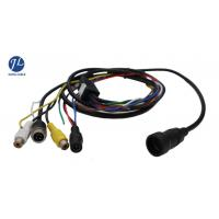 Quality 12V 24V 13 Pin Din Cable For Rear View System , Video And Power Cable Single Shielding for sale