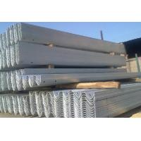 Quality Q235 galvanized guard rail W beam for sale