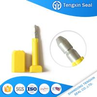 TX-BS302 China manufacturer Customized security red/white/yellow markable bolt seal for sale