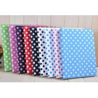 Quality Dotted PU Leather Girl Colorful iPad 2 / iPad 3 Protective Cases & Covers for sale