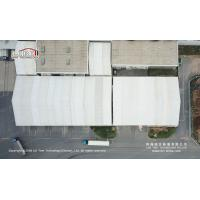 20x80m Aluminum White Fire retardant Temporary Car Storage Tents Structure for sale