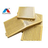 Quality Architectural Perforated Metal Wall Panels , Aluminium Exterior Wall Panels for sale