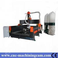 Quality 4th axies servo engraving machine stone ZK-1325(1300*2500*500mm) for sale